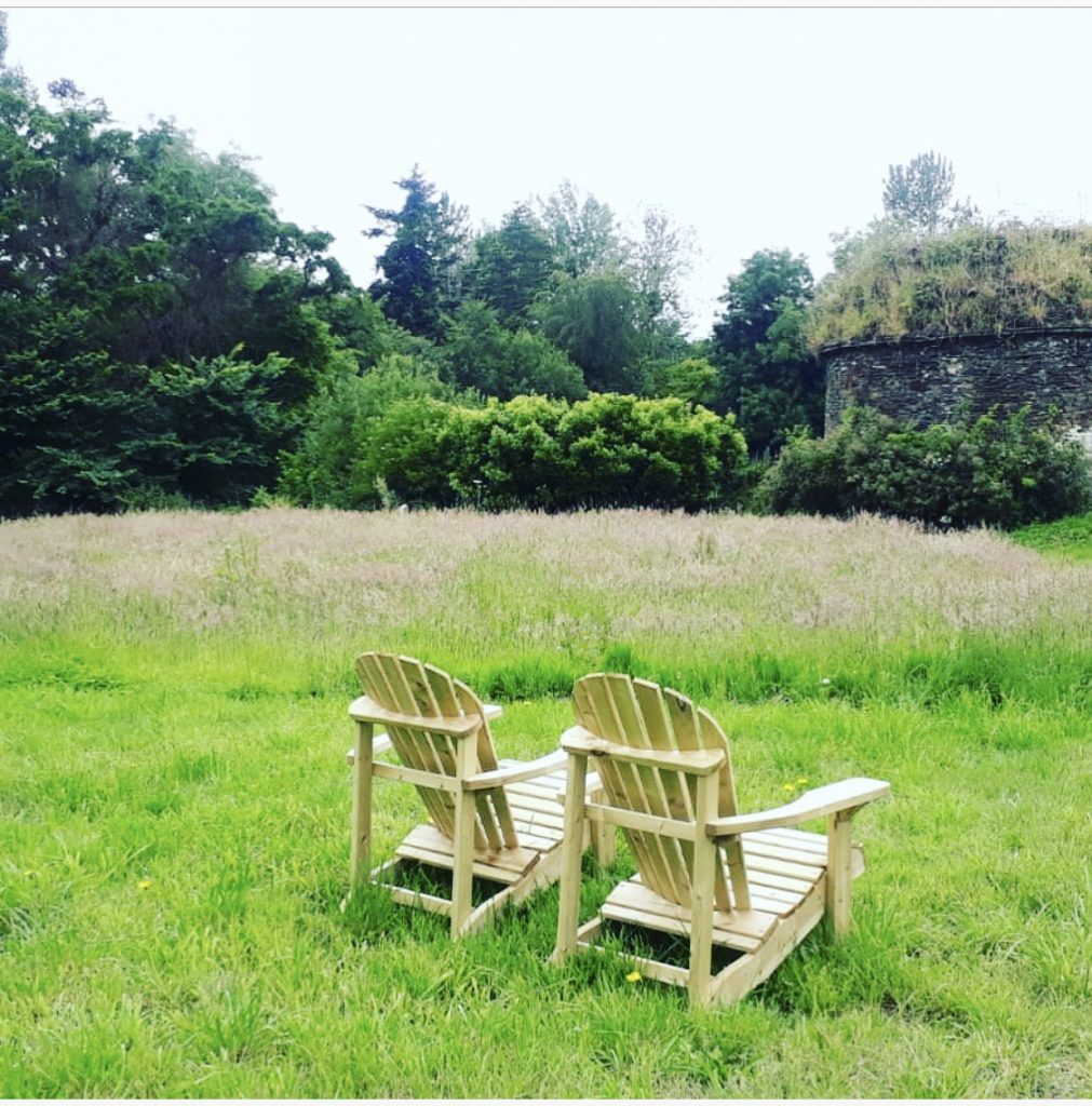 jardin repos chill