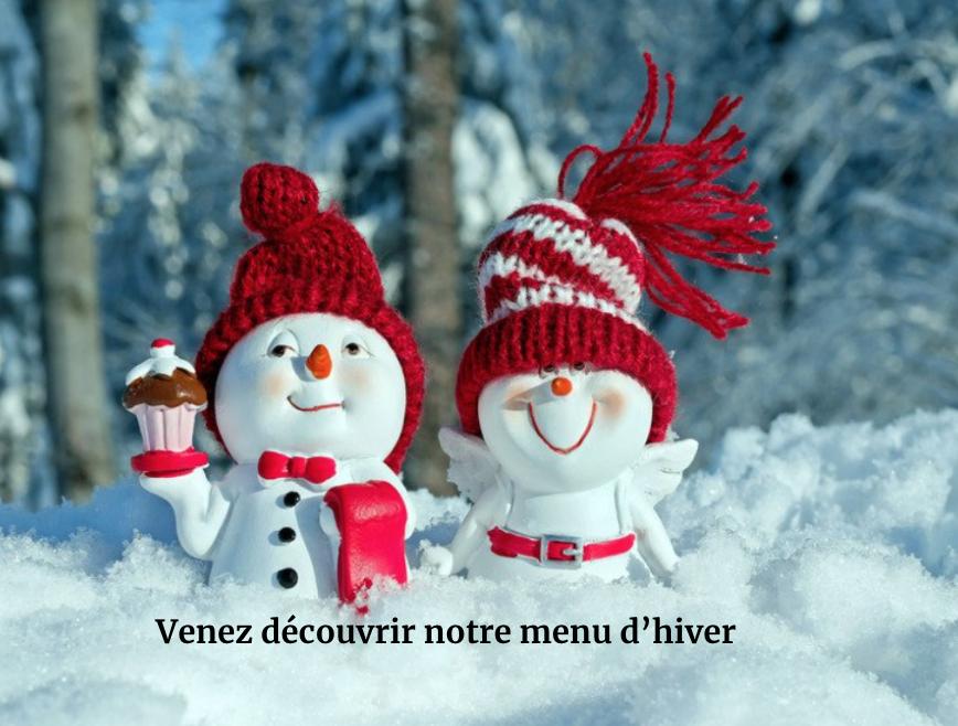 découverte menu hiver