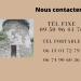 fiche contact téléphone